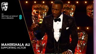 Mahershala Ali Wins Supporting Actor for Green Book | EE BAFTA Film Awards 2019