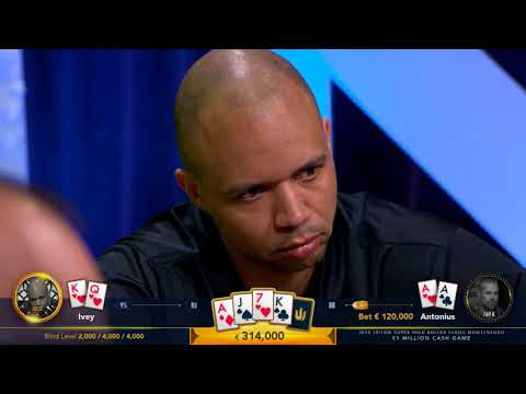 "Highlights - €1 Million Cash Game with Phil Ivey, Tom Dwan and Dan ""Jungleman"" Cates"