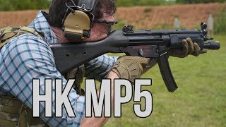 Garand Thumb on the H&K MP5