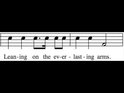 Leaning on the Everlasting Arms - Bass Only - Learn How to Sing Hymns