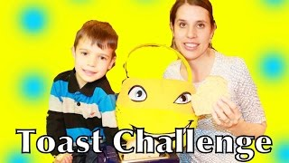 Toast Challenge with AllToyCollector Frozen Toby TMNT Surprise Basket Prize Play-Doh Playset