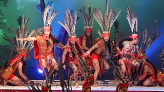 Magunatip, the Warrior Dance of Borneo Headhunters