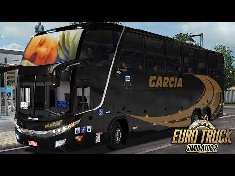 Euro Truck Simulator 2 - Bus | Garcia | São Paulo/Maringá - Detail Map + EAA
