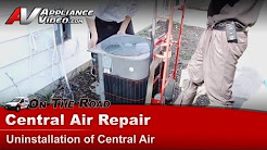 Central Air Conditioner Repair - How to Replace and repair  a Central Air Unit