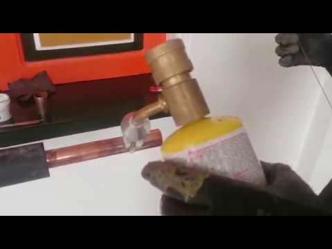 Como soldar tuber a de cobre para aire acondicionado y for Como soldar cobre