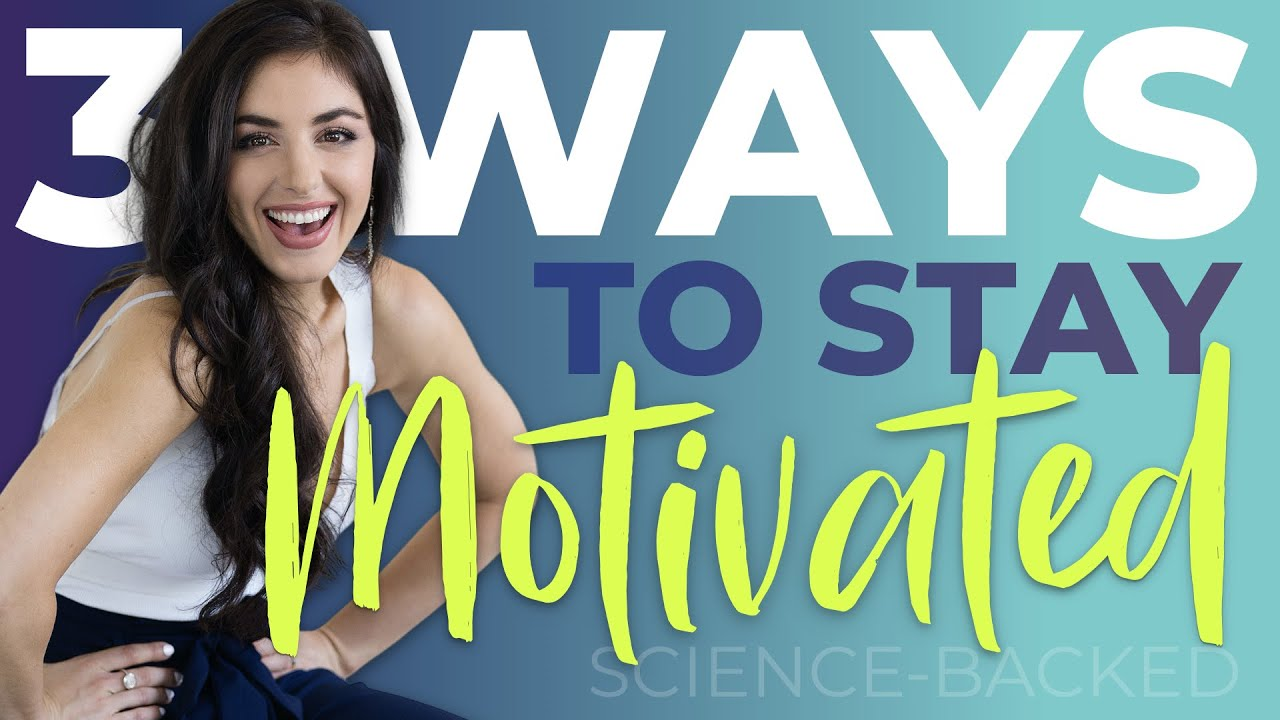 Ep. 4: How to Stay Motivated - 3 Science Backed Hacks