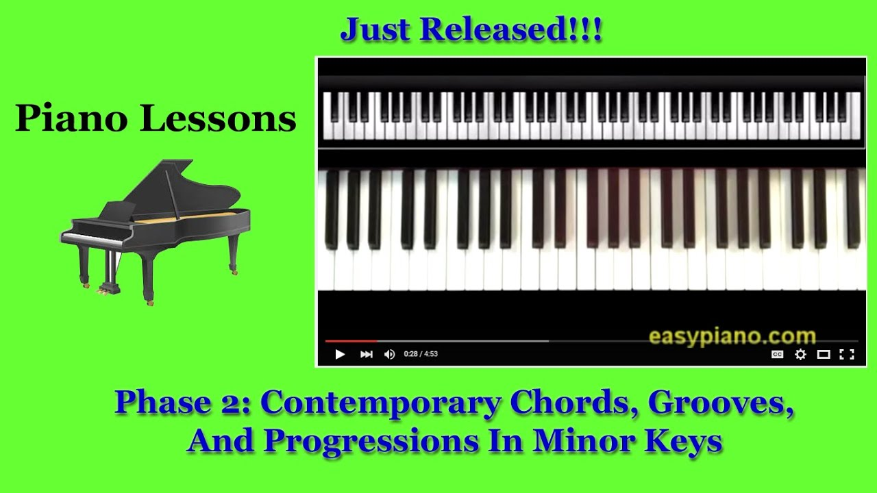 Piano lessons how to practice contemporary chords and piano lessons how to practice contemporary chords and progressions in minor keys phase 2 hexwebz Images