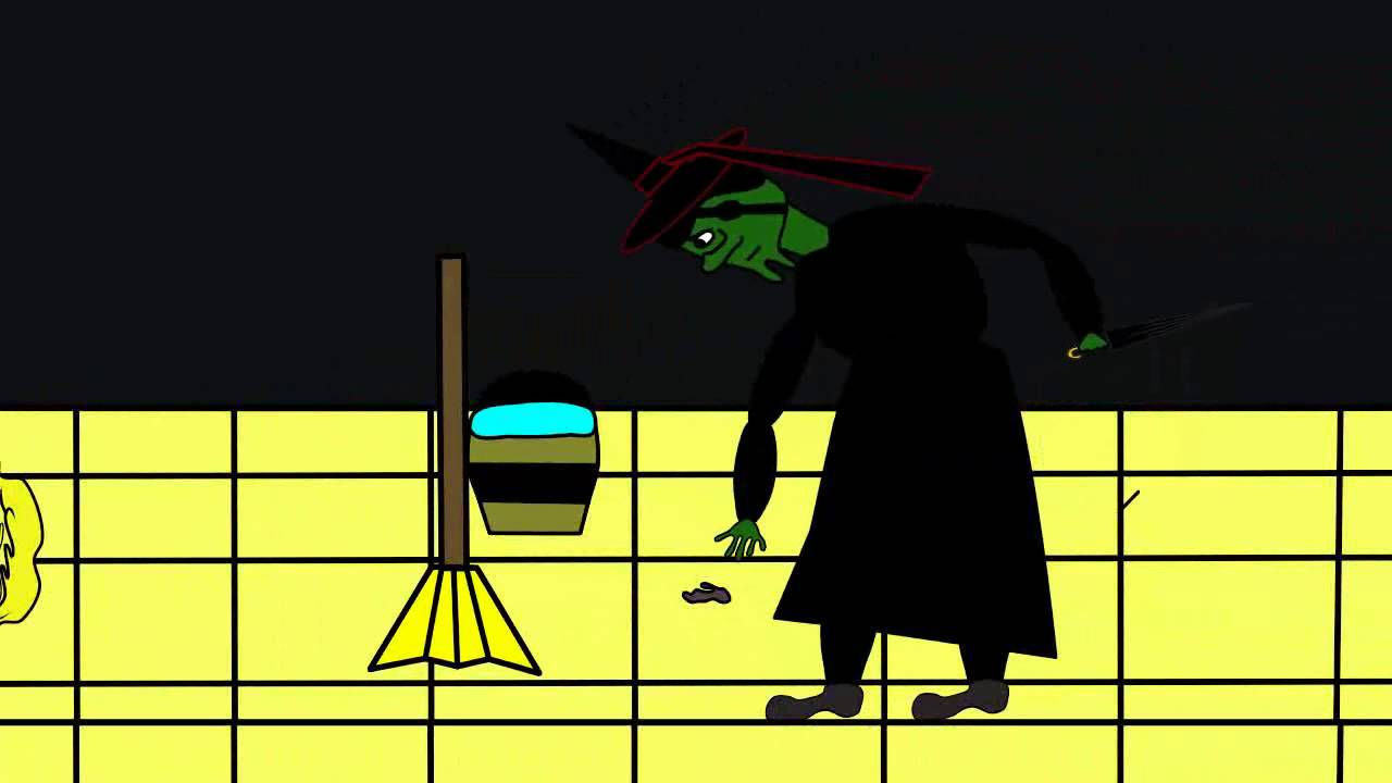 Dorothy Melts The Wicked Witch Of The West Animation Youtube