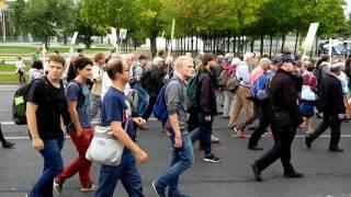 Marsch für das Leben Berlin 17.09.2016 Gottesdienst mit Störern  Teil 3/3