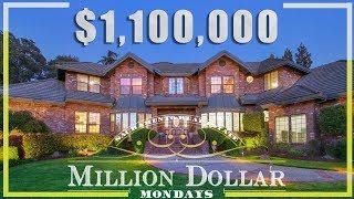 Sacramento House Tour: $1.1 MILLION LUXURY HOME Million Dollar Mondays