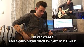 Avenged Sevenfold - Set Me Free (New Song Guitar Cover + All Solos)