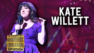 Kate Willett - Opening Night Comedy Allstars Supershow 2018