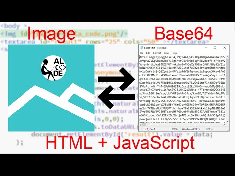 Convert Image To Base64 String Using HTML + JavaScript