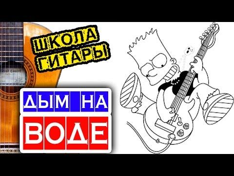 Самая простая мелодия на гитаре 🎸 школа гитары