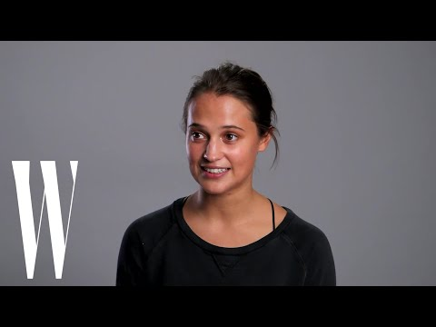 Alicia Vikander's First Birthday Away from Home with Her Future Best Friend  W Magazine