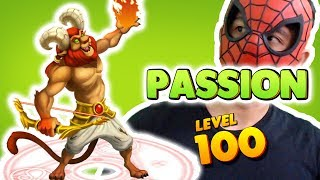 Monster Legends: Passion level 1 to 100 - Combat PVP