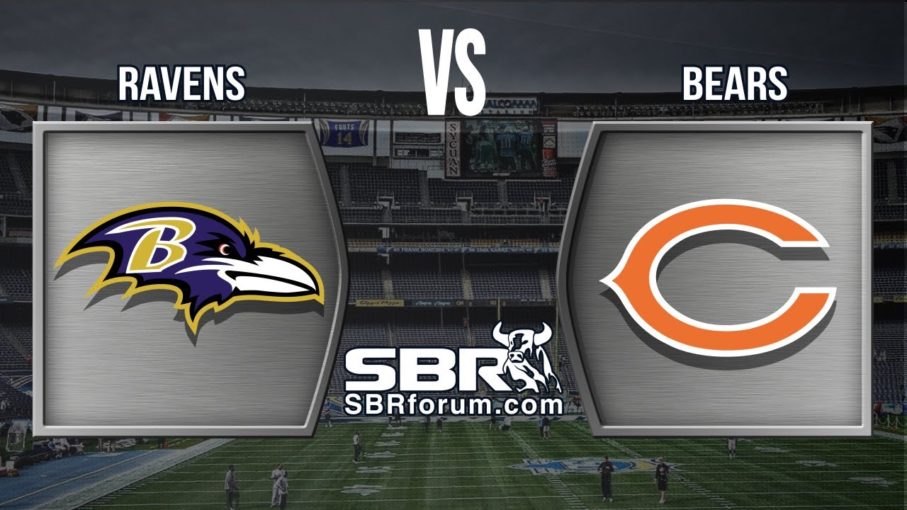 Image result for Ravens vs Bears pic logo
