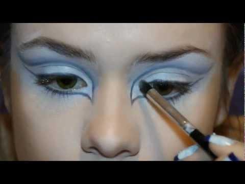 The Ice Queen makeup tutorial / Макияж снежная королева