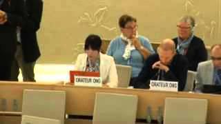 沖縄・島ぐるみ会議@国連人権理事会【英語】9/23日本政府に反論