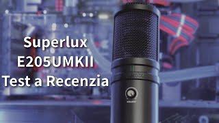 Test a Recenzia mikrofónu Superlux E205UMKII SK CZ Review