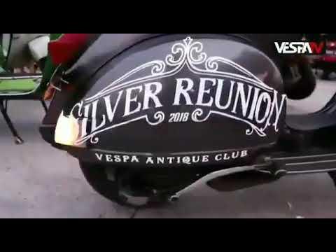 Vespa antique club indonesia silver reunion 2108