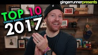TOP 10 FAVORITE RUNNING GEAR ITEMS OF 2017 | The Ginger Runner
