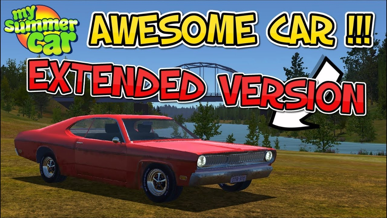 my summer car - awesome new mod car (extended version) - youtube