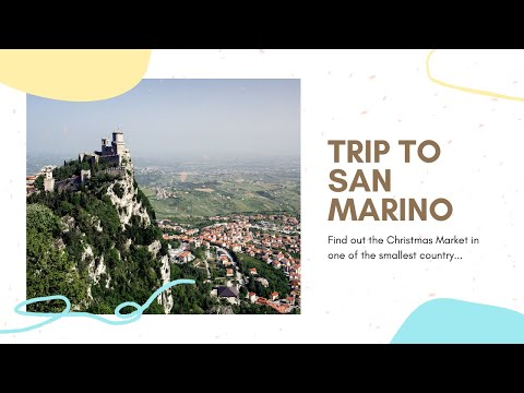 Come with me to San Marino  Hidden gem in EU  Christmas market  Ft. COVID-19
