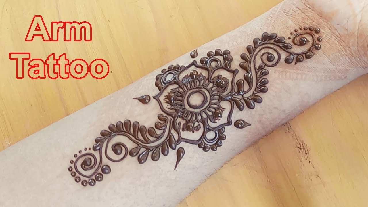 Arm Mehndi Design 4 Easy And Short Henna Tattoo For Arms
