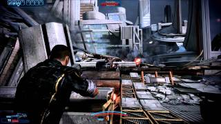Mass Effect 3 Демо 1st and 2nd Mission (part 1/2) (PC) 1080p HD