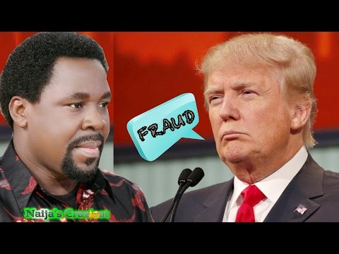 President Trump Bans T.B Joshua From  America Over False Prophecy On U.S Presidential Elections