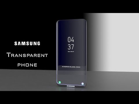 Samsung Galaxy Transparent Phone -First Design Introduction Concept Video