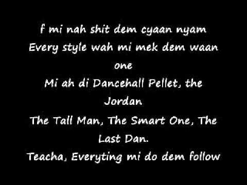 dancehall hero lyrics by rikmitramfamily