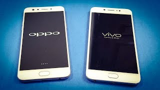 Oppo F3 vs ViVo V5s SPEED TEST COMPARISON | Which Is Faster!