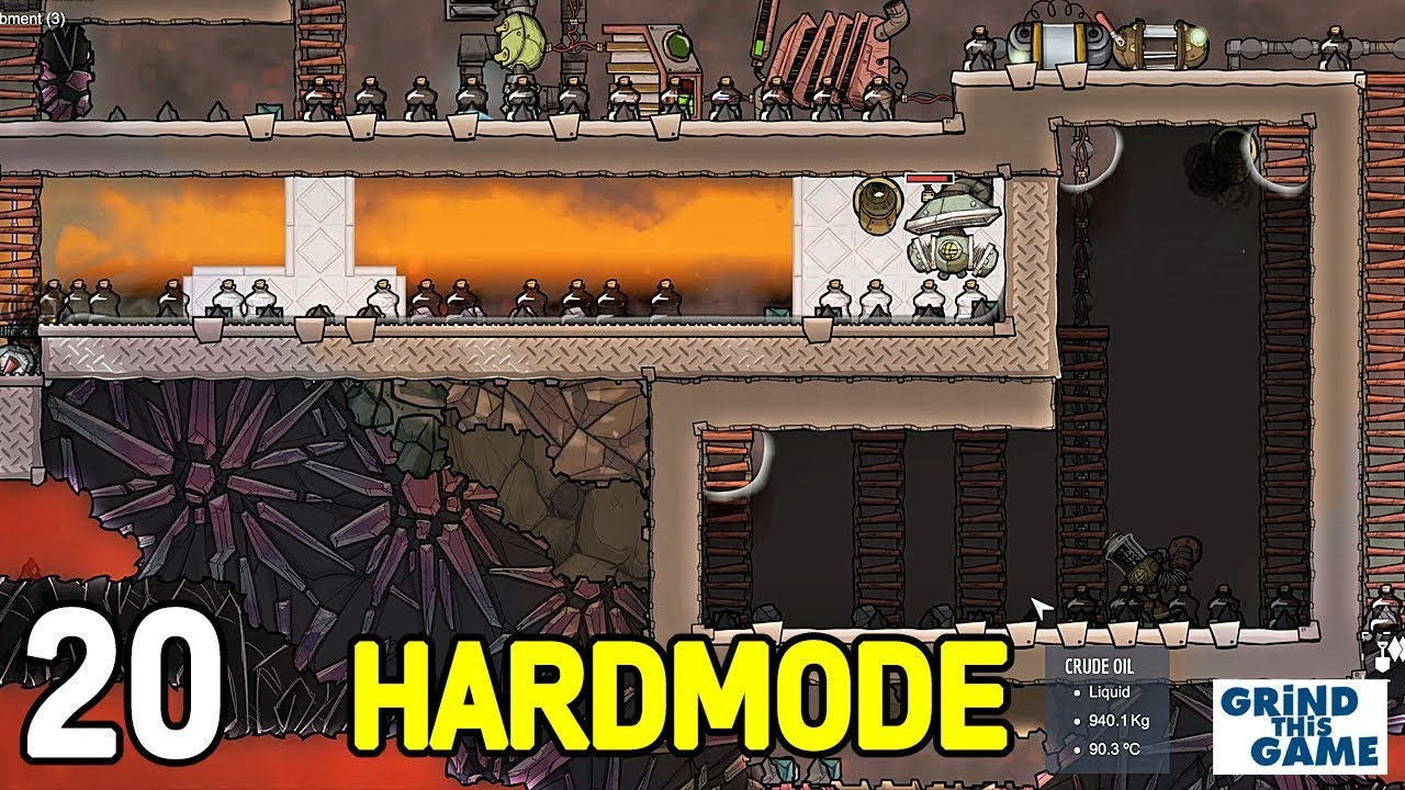 OIL COOKER - COSMIC UPGRADE #20 (Hardest Difficulty) - Oxygen Not Included