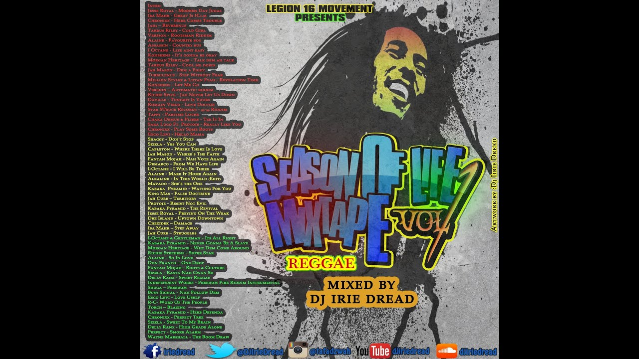 Season of Life Roots Reggae Mixtape Vol 1- DJ Irie Dread – MzansiReggae