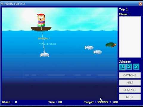 Fishing Fun + Cheat Engine TUTORIAL
