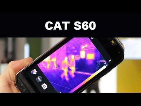 cat s60 avec cam ra thermique prise en main hands on