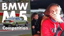 DasMalmedie-Taxi auf dem Nürburgring | BMW M5 Competition | Matthias Malmedie