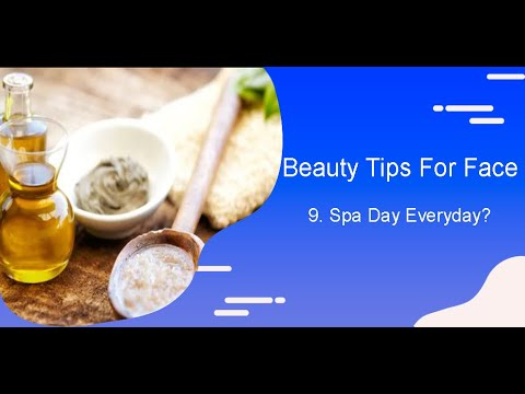 Qvid Vlogs Beauty Tips For Face 9 Spa Day Everyday