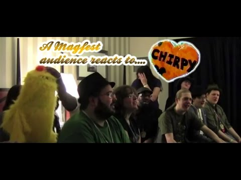 A (MAGFest) audience reacts to Chirpy