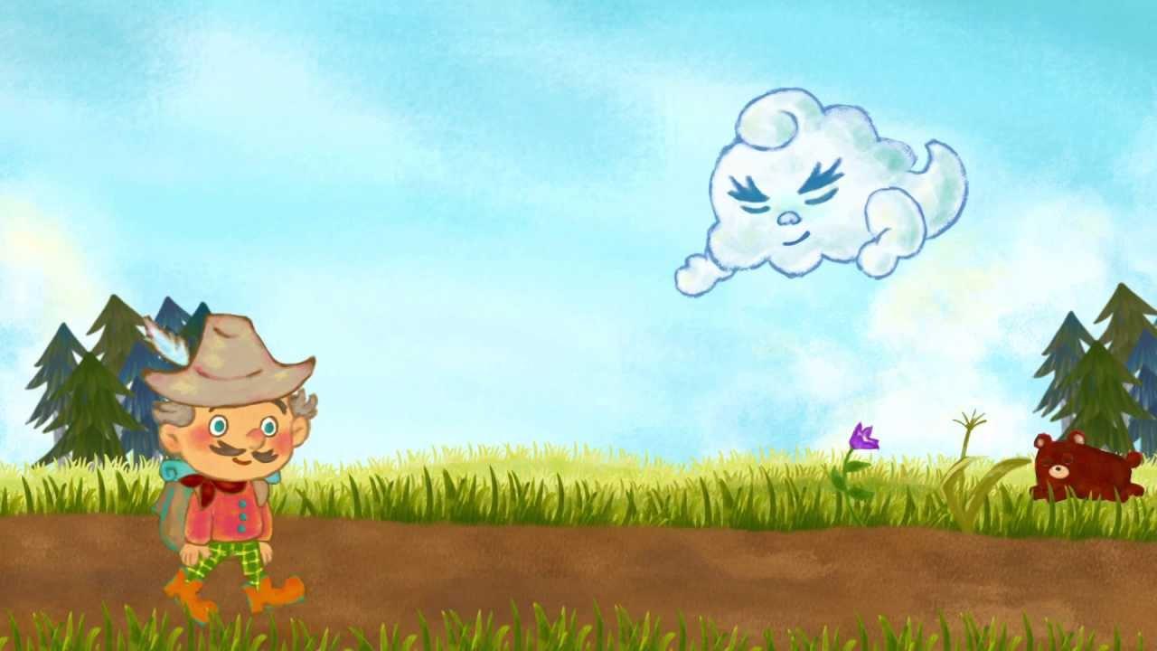 アニメ『北風と太陽』 - YouTube