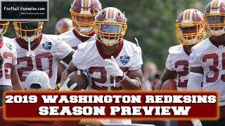 Football Gameplan's 2019 NFL Team Preview: Washington Redskins