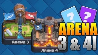 "Clash Royale ""WIN EVERY TIME!"" Arena 3 & 4 Deck Strategy! BEST Level 4-7 Cards! (Pro/Beginner Tips)"