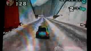 Beetle Adventure Racing Game Play (Mount Mayhem)