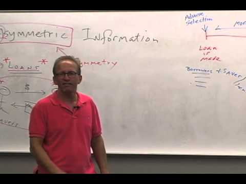 Money and Banking: Lecture 18 - The (Special) Role of Banks 1