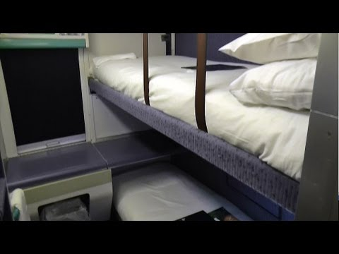 London to Edinburgh by Caledonian Sleeper train