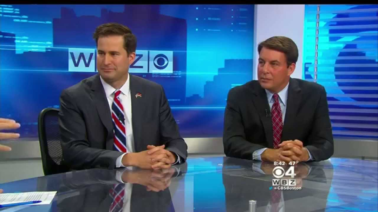 Seth Moulton and Richard Tisei Debate on WBZ - YouTube
