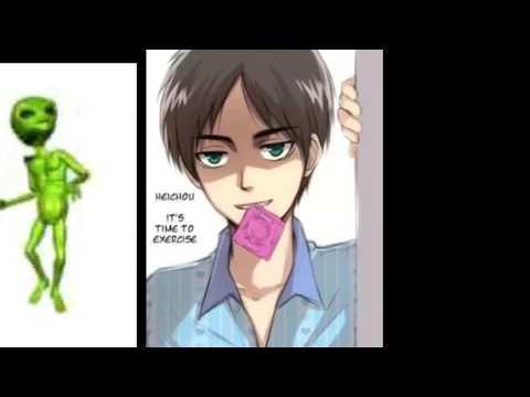 AOT AMV ~ Eren X Levi Yaoi ~ dont like dont watch