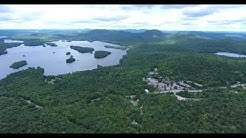 Blue Mountain Lake area Drone Footage.